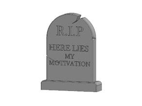 Motivational Gravestone