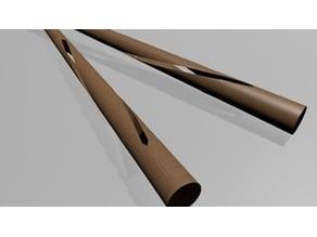 Chopsticks With Spiral :D
