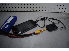 Phone charger from lipo battery