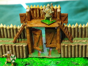 Saxon Burh Fortified Gate
