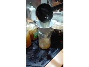 funnel for jam