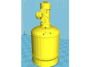 Kidde FM200 / Novec1230 Clean Agent Fire Suppression System 5L Cylinder