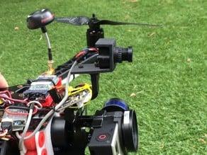 Fat Shark 600TVL camera mount for Tarot T-2D