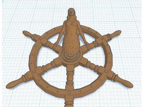 Mermaid Ship Wheel