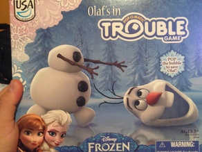 Olaf's in Trouble Game - missing pieces