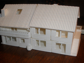 miniature version of a real existing house