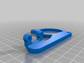2mm and 1mm higher BLTouch Mount & Fan Spacer for Anet A6 Titan Aero Carriage