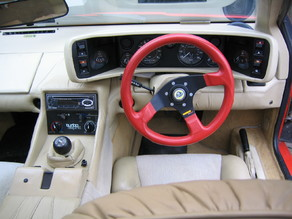 Lotus turbo esprit MOMO steering wheel horn button