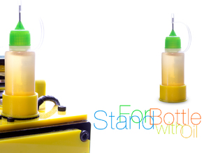 Stand for bottle with oil