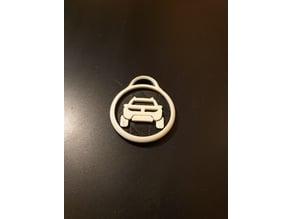 Portachiavi keychain Dacia Duster 2018