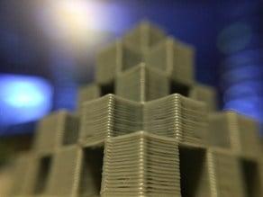 Cube Pyramid Hollow
