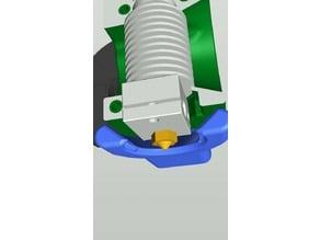 Fanduct Shape3D (for Rotelloid 3D printer off ALE and Pursa I3 MK2/MK3)