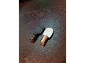 simple shelf pin / peg