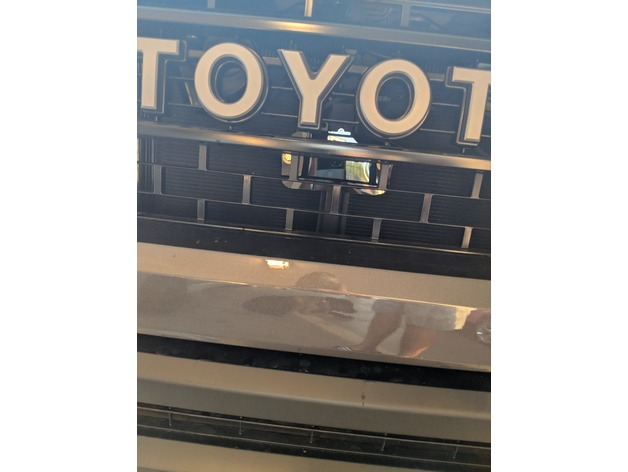 Toyota Trd Pro >> 2018 Toyota Tundra TSS Relocation Mount by neua - Thingiverse