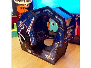 Atari Star Wars arcade cockpit cabinet