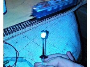 1:87 H0: Street Lamp