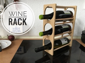 Little Wine Rack - 3 Bottles