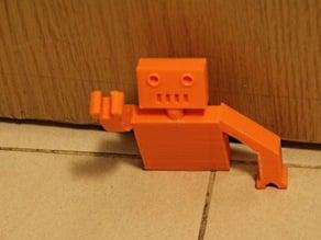 Door stop robot