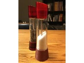 Bugatti salt and pepper compatible shaker