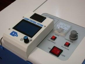 Cohesion3D GLCD cabinet for K40 laser engraver