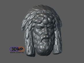 Man Bas Relief (Sculpture 3D Scan)