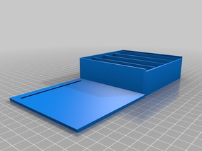 box with lid 100x100x30mm