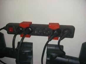 Multiple Socket Outlet Mount