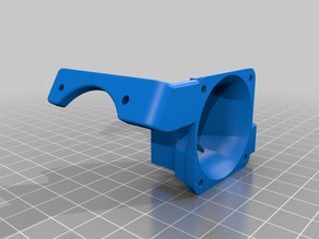 Hotend Fan for Printrbot Simple Metal