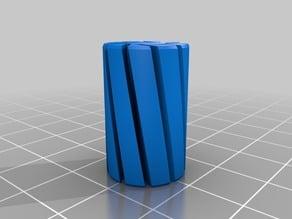 4.83mm rod Spiral vase linear bearing bushing