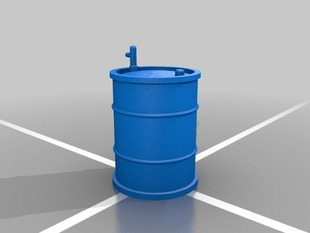 55 Gallon Oil Drum