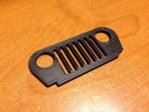 Jeep Wrangler TJ Grill Keychain