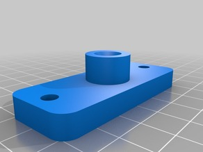 Bowden Adapter for Wade Reloaded Extruder