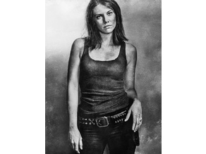 Maggie Greene/Rhee Lithophane The Walking Dead