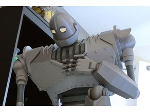 Massive Iron Giant and Hogarth