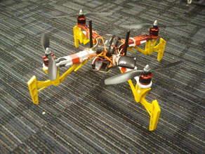 DJI Flame Wheel 330 rugged landing gear/suspension