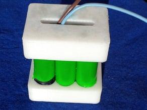 Support de batteries diametre 18 mm