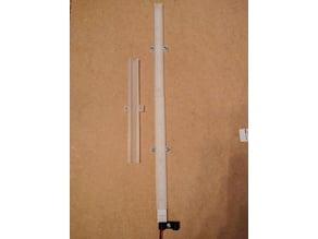 150mm LED Light Strip Diffuser/Protector, 2835 LEDs