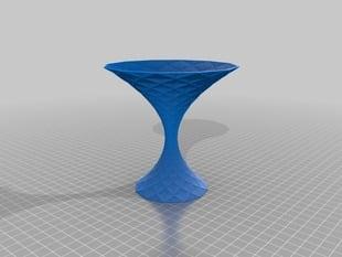 My Customized Polygon Vase - Martini glass 2