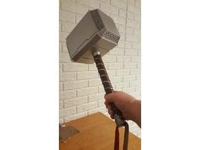 Thor's Hammer Single print head, split handle.