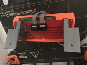 Prusa i3 Mk2 LCD Mount Holder Bracket
