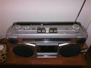 Sears SR 2100 Boombox radio button