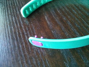 Stronger, no-support Fitbit Flex clasp