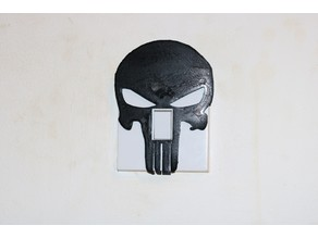 Punisher light switch cover