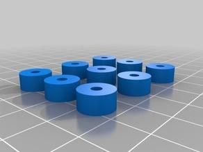 3mm center 100 diameter 5mm high