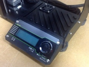 Makergear M2 Enclosure for Rambo board and Viki LCD