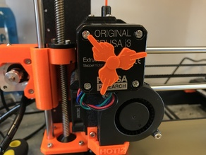 Rude extruder motion indicator for Prusa