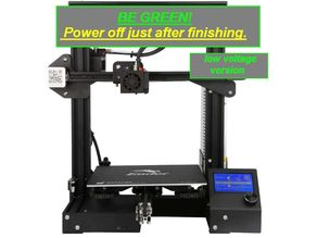 Automatic Power Off after print V2 - low voltage version