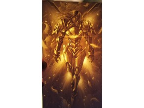 Pharah Lithophane