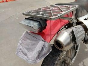 Honda Grom tail light to XR650L mount