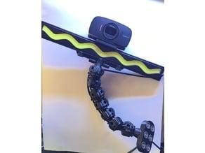 LED Light Bar Logitech C525 Camera Magnetic mount